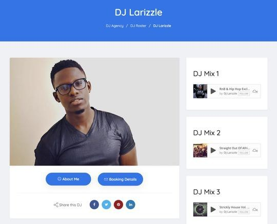 Dj Larizzle Screen